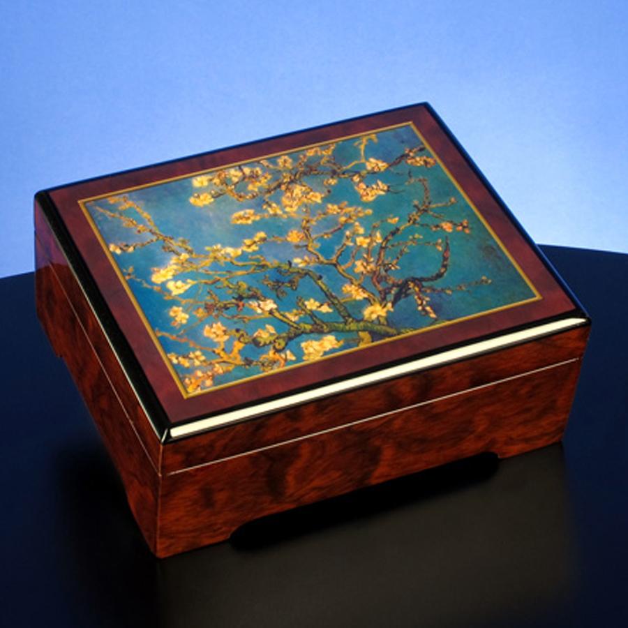 Van-Gogh-Blossoms-Musical-Jewelry-Box