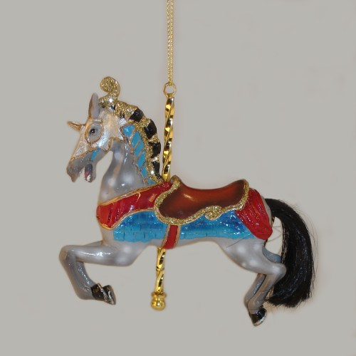 Grey-Carousel-Ornament-E0264-E