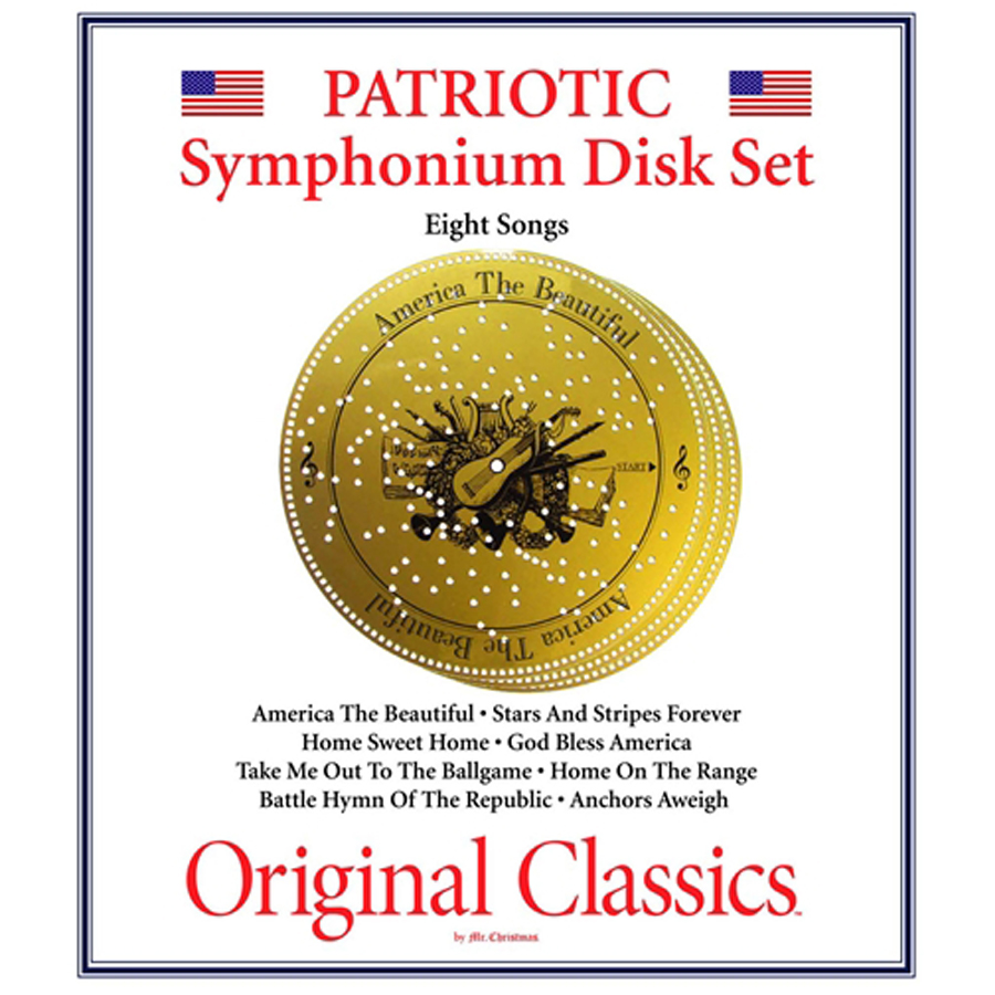 Patriotic-Music-7-Inch-Disk-Set