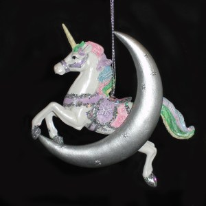 Unicorn-Moon-Ornament