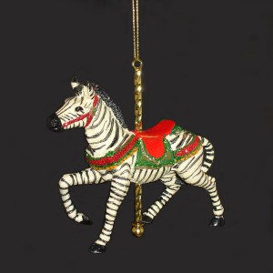 Zebra-Ornament