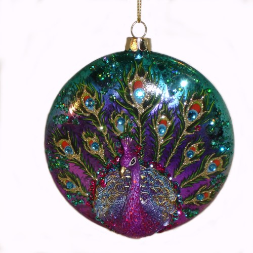 Peacock-Ornament-front