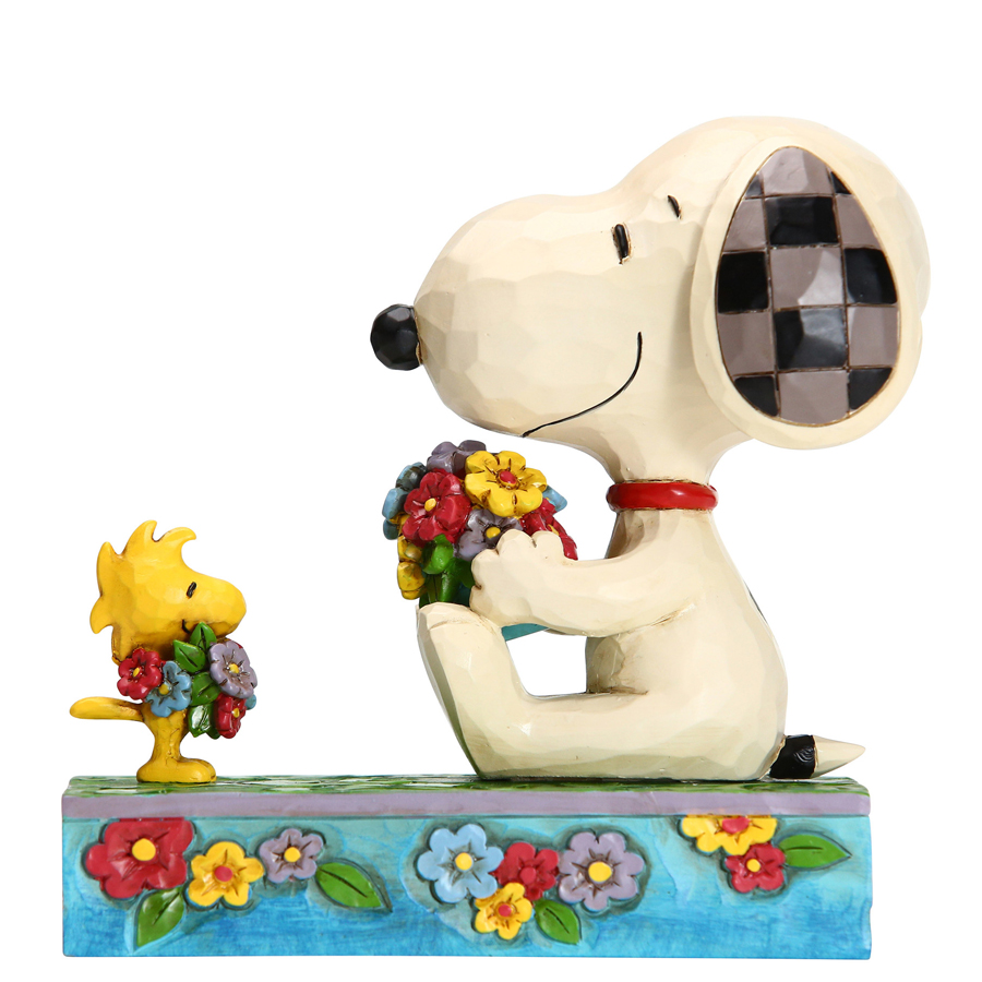 Snoopy-Woodstock-Spring-left-view