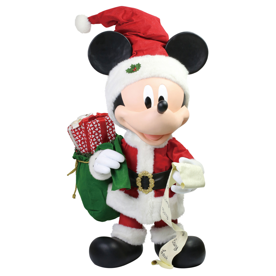 Merry-Mickey-huge-figurine-front-view