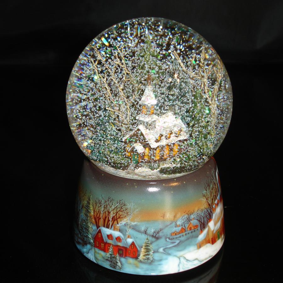 Brown-Church-Snow-Globe-Shaken-blk