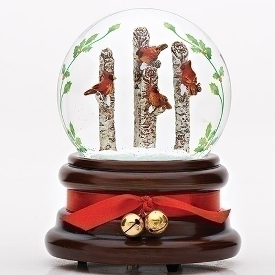 Cardinals-in-Trees-Snow-Globe