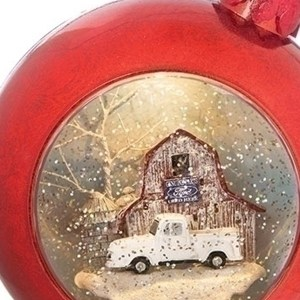 Ford-Truck-Christmas-Ball-close-up
