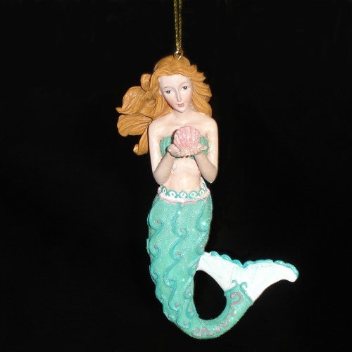 Mermaid-Seashell-Ornament-front-view