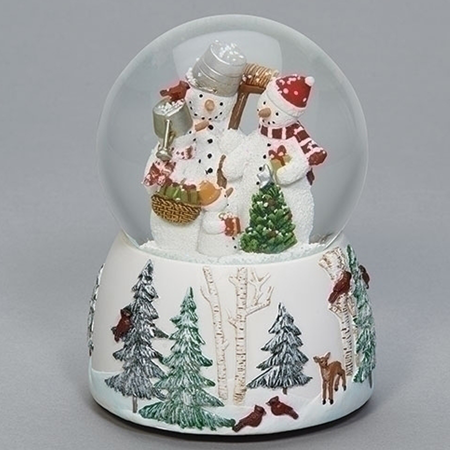 Mr-and-Mrs-Snowman-Snow-Globe