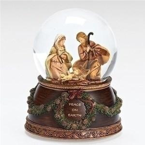 Nativity-Peace-on-Earth-Snow-Globe