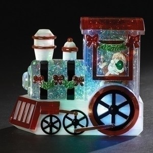 Santa-in-Train-Swirl-Snow-Globe