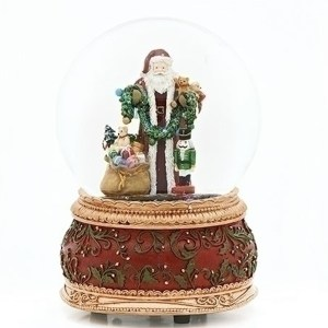 Santa-with-Toys-Snow-Globe