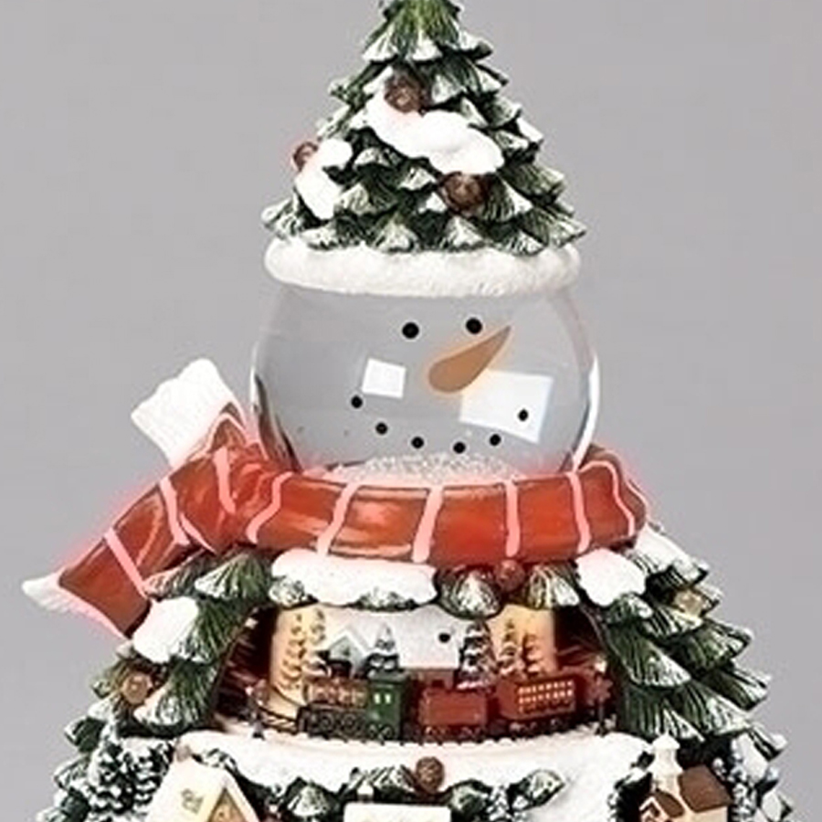 Snowman-Train-Village-Musical-close-up
