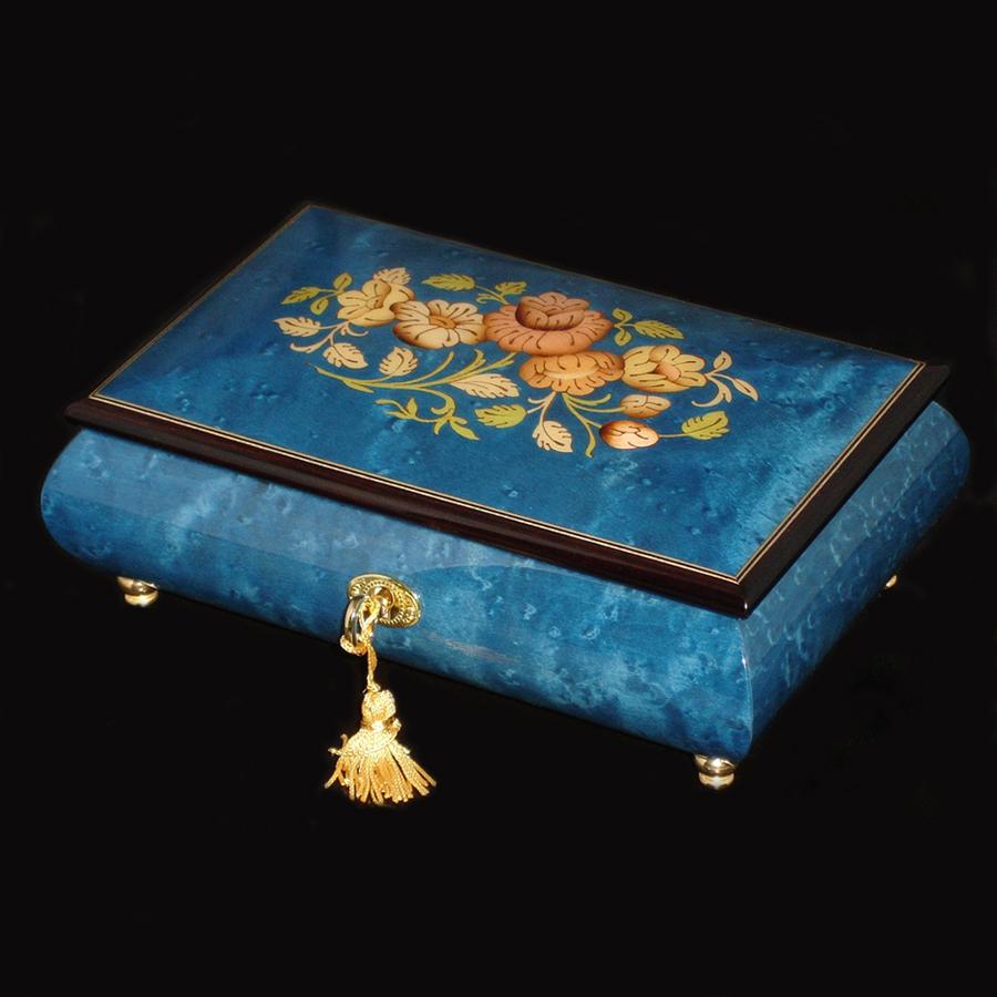 Italian-Inlay-Musical-Jewelry-Box-Dark-Blue