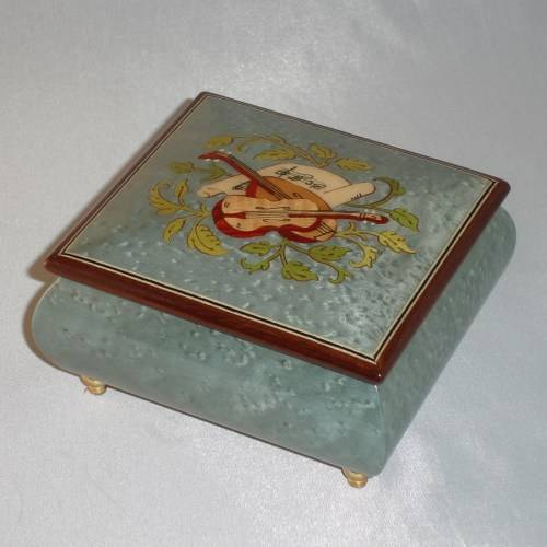 talian Jewelry Box 17CCM-Light-Blue