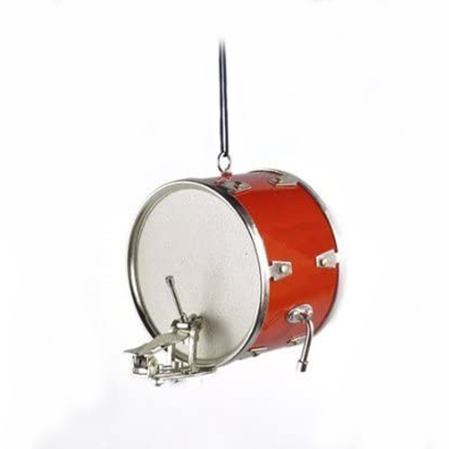Red-Bass-Drum-Ornament