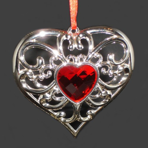 Silver-Heart-Ornament