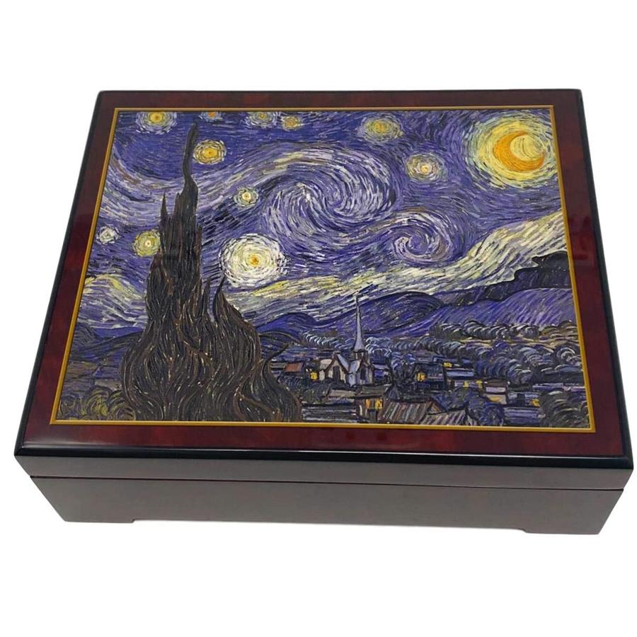 Musical-Jewelry-Box-Van-Gogh-Starry-Night