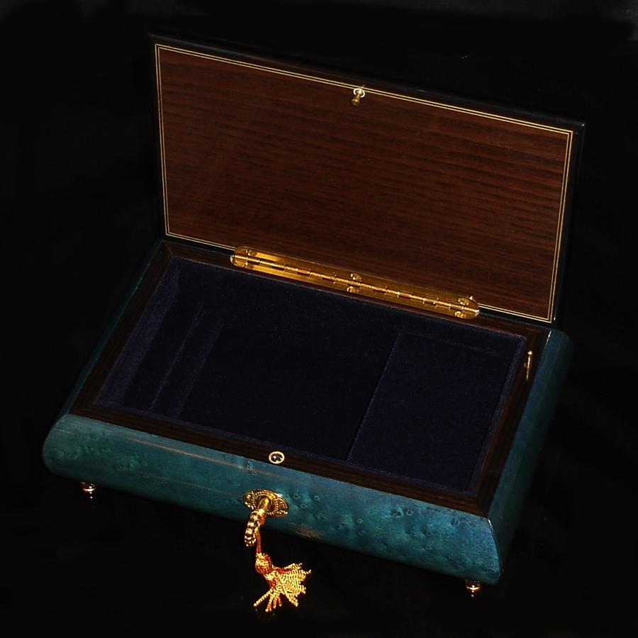 Italian-Inlay-Jewelry-Box-Star-of-David-Blue-open