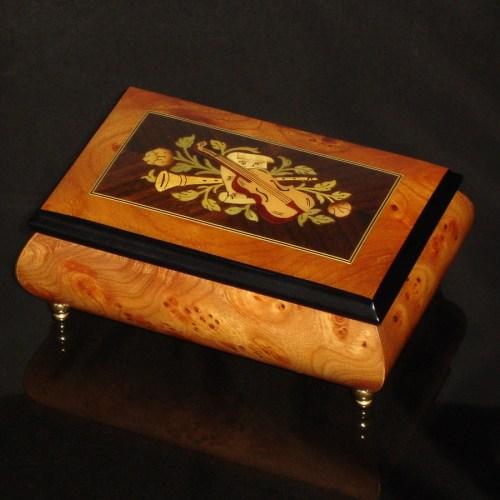 Italian-Musical-Jewelry-Box-Elm-Rosewood