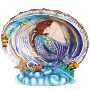 Mermaid-in-Abalone-Shell