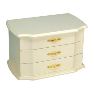 White-Large-Musical-Ballerina-Jewelry-Box