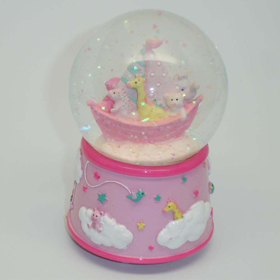 Pink-Dream-Time-Globe-Giraffe-Glitter