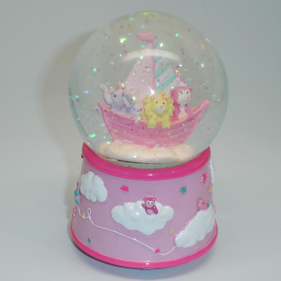 Pink-Dream-Time-Globe-Lion-glitter