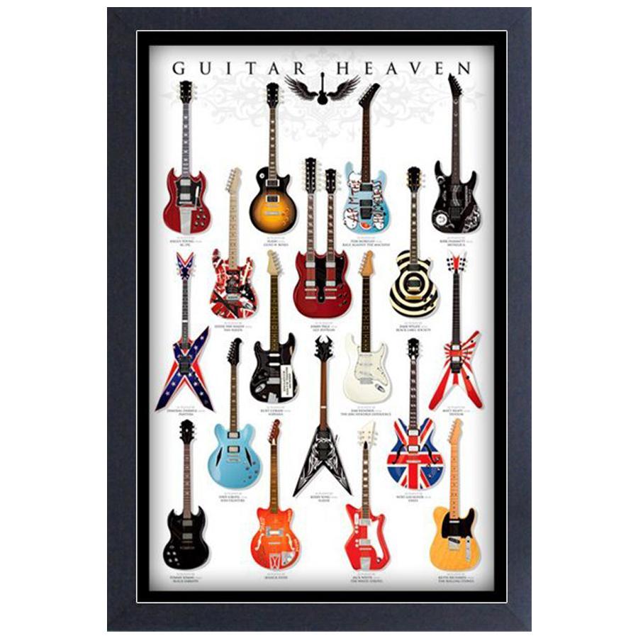 Guitar-Heaven-Framed-Print