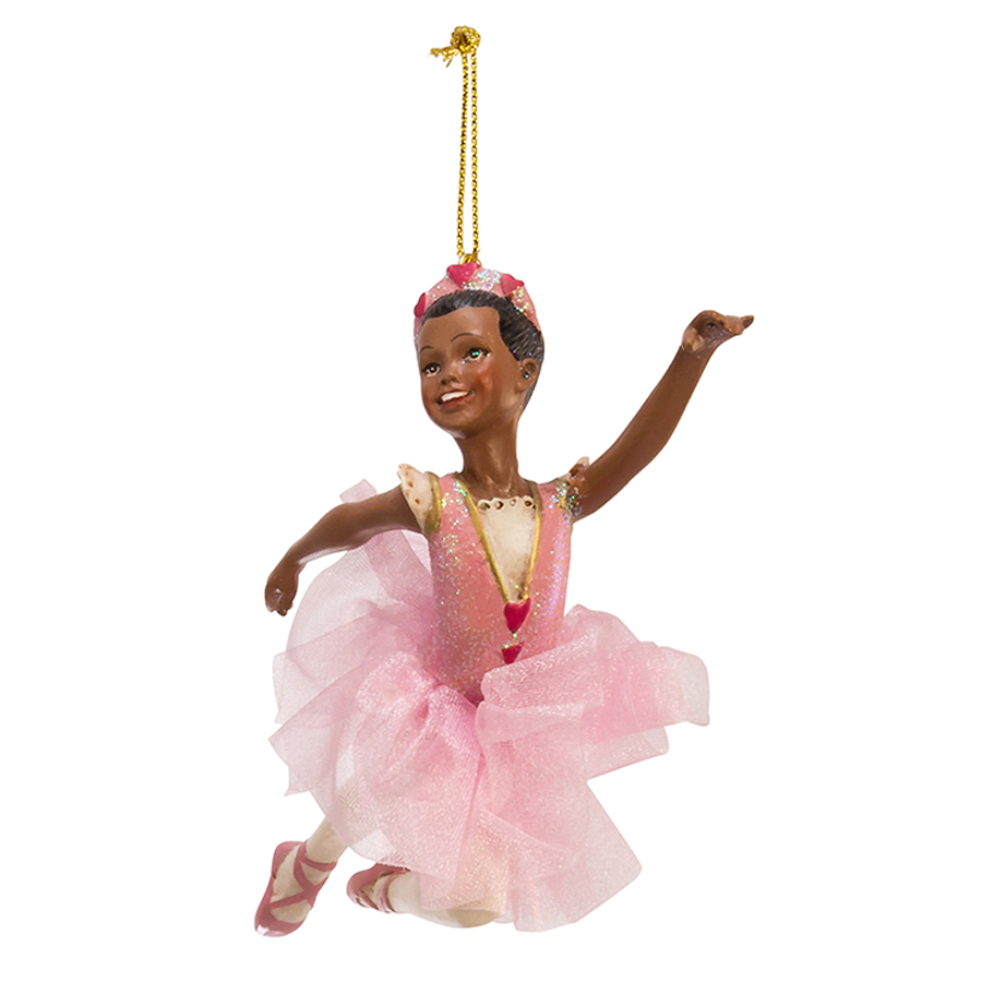 African-American-Ballet-Ornament-2-left-view