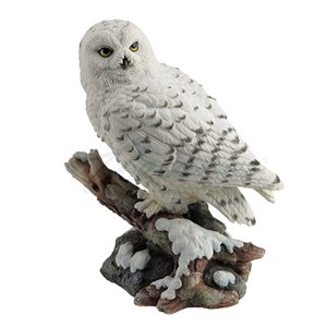 Snow-Owl-Figurine