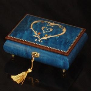 Italian-Inlay-Musical-Jewelry-Box-Heart-Dark-Blue