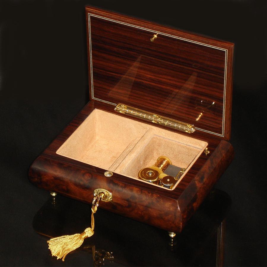 Italian-Inlay-Musical-Jewelry-Box-Heart-Walnut-open-no-cover