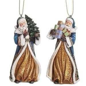 Blue-Gold-Santa-Ornaments