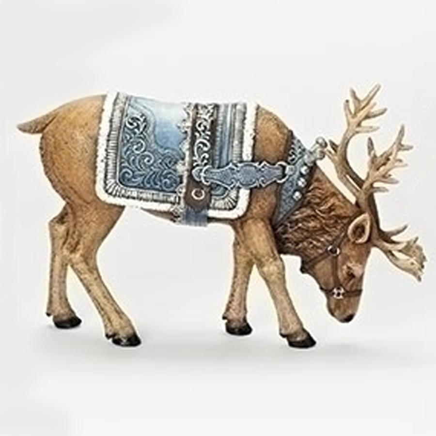 Blue-Reindeer-head-down