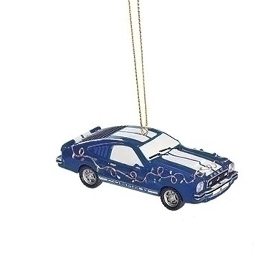 Cobra-Mustang-Blue-Ornament