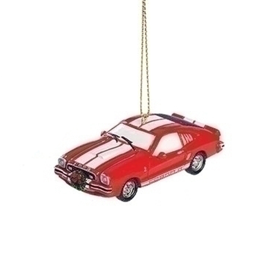 Cobra-Mustang-Red-Ornament