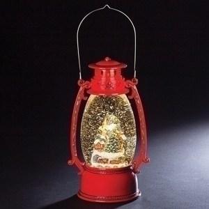 Village-Red-Swirl-Lantern