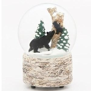 Black-Bear-and-Cub-Snow-Globe