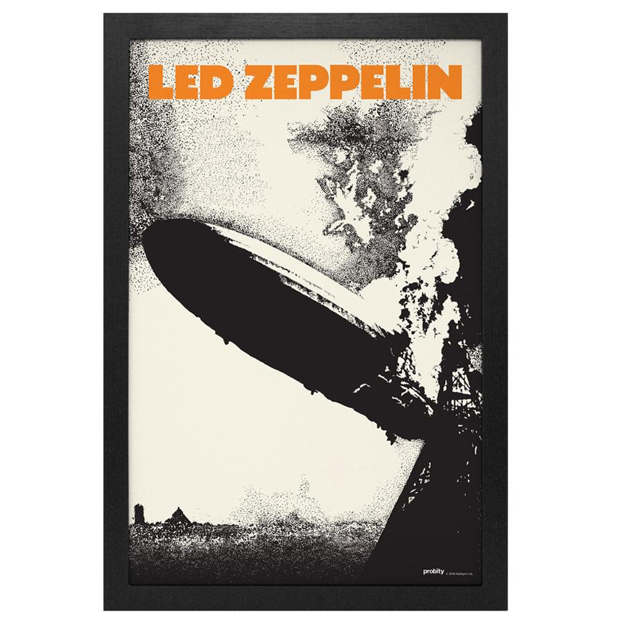 Led-Zeppelin-1-Framed-Print