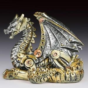 Sitting-Steampunk-Dragon