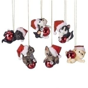 Cat-Santa-Hat-Ornaments