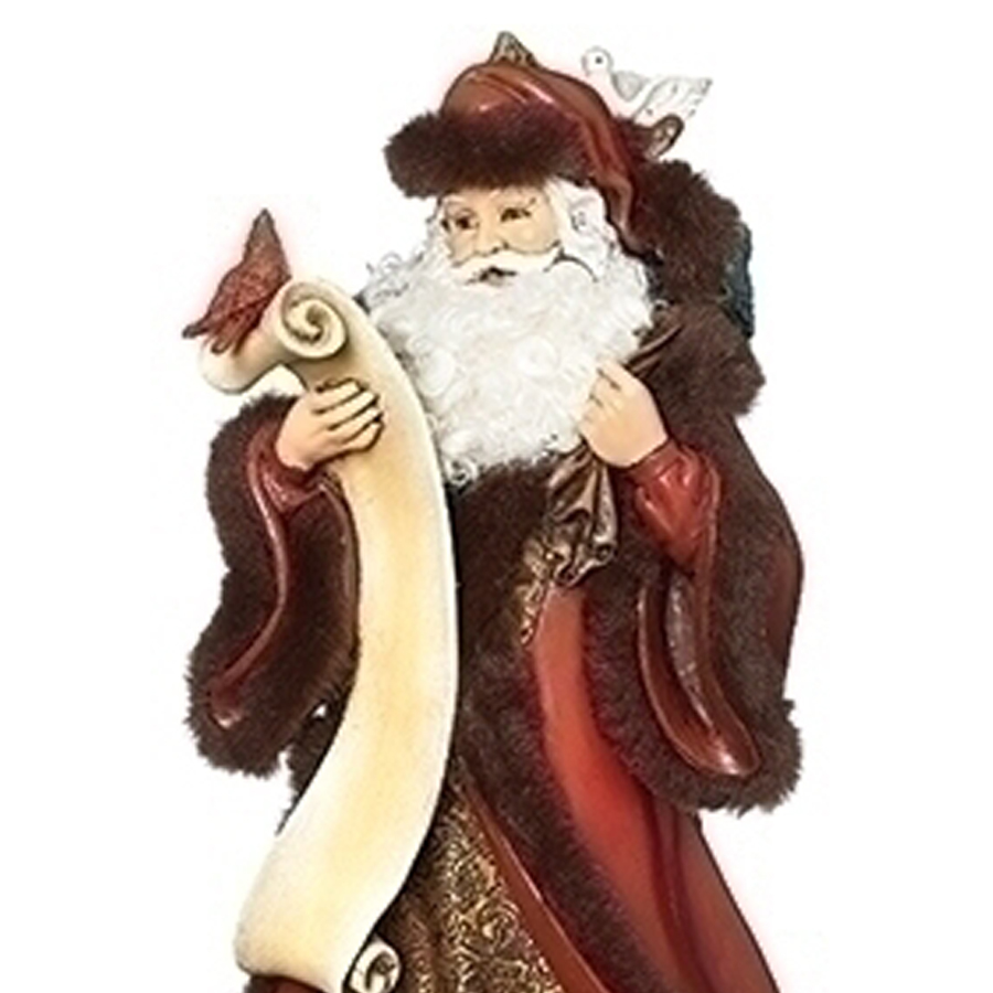 Red-Santa-List-Birds-close-up