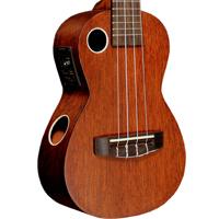 Riptide Ukulele, Concert Mahogany Acoustic-Electric EUC-5NS
