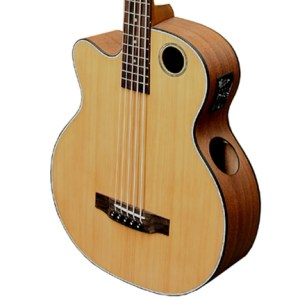 Boulder Creek Guitar, Acoustic Bass Cedar Top Lefty EBR3-N5LHF