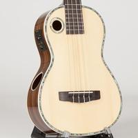 Riptide Ukulele, Baritone Spruce Acoustic-Electric EUB-2N