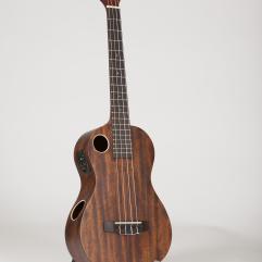 Riptide Ukulele, Baritone Mahogany Acoustic-Electric EUB-5NS