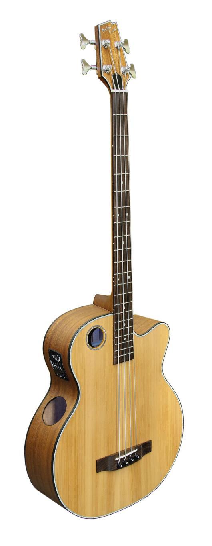 Boulder Creek Guitar, Acoustic Bass Cedar Top EBR3-N4