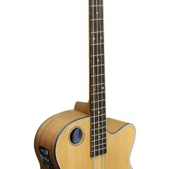 Boulder Creek Guitar, Acoustic Bass Cedar Top EBR3-N4