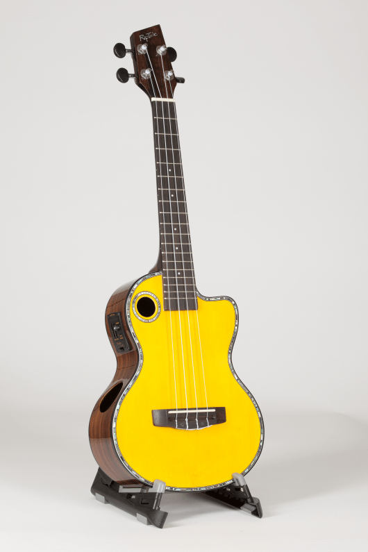 Riptide Ukuele, Tenor Spruce Vintage Cutaway Acoustic-Electric ECUT-2V